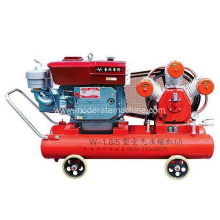 Portable Small diesel power engine air compressor